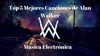 Video Top 5 Mejores Canciones de Alan Walker - Música  MX MP3, 3GP, MP4, WEBM, AVI, FLV Maret 2019
