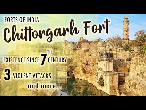 Forts Of India - Chittorgarh Fort, Rajasthan - Ep#1