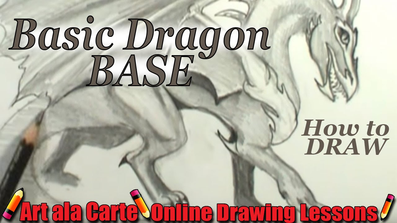 How To Draw A Dragon Hd Images And Wallpaper Digitalhint How To Draw A  Dragon Easy