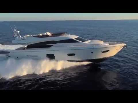 video of Ferretti Yachts 720 Flybridge