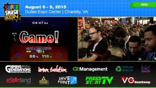 SSC – Dj Nintendo & The Moon Vs. Mew2King & Wizzrobe SSBM Losers Finals – Smash Melee