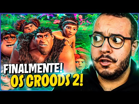 OS CROODS 2 - TODOS OS SEGREDOS DO TRAILER!