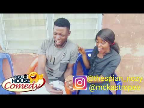 Laughing and hitting (Real House Of Comedy) (Nigerian Comedy)