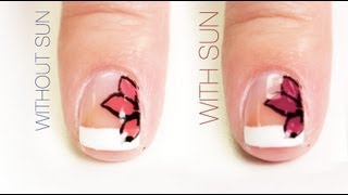 Little Flower Color-Changing Nail Art Design