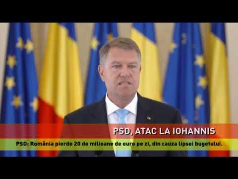 Iohannis, atacat de PSD pe facebook