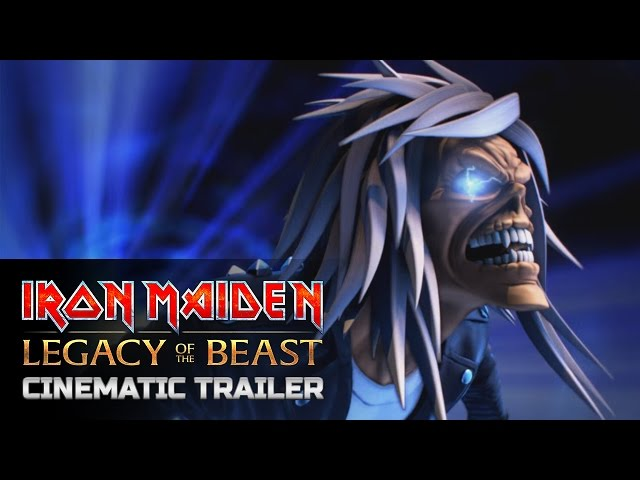 Iron Maiden: Legacy of the Beast Official Cinematic Trailer
