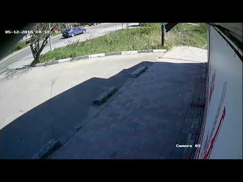 Авария с пешеходом в Бору на улице Кольцова
