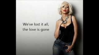Video Christina Aguilera  - You Lost Me with lyrics on screen MP3, 3GP, MP4, WEBM, AVI, FLV Agustus 2018