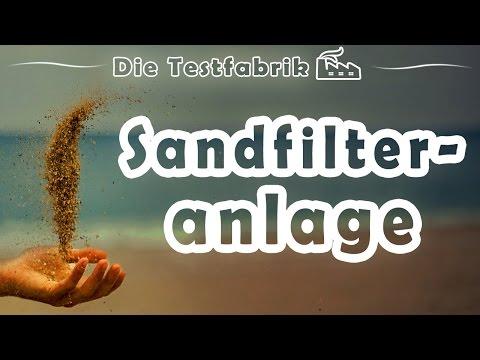 ⏳ Sandfilteranlage Test – 🏆 Top 3 Sandfilteranlage im Test