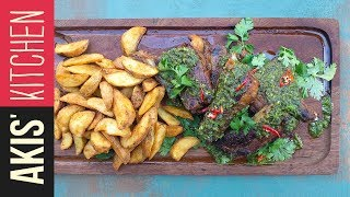 Verde sauce pork ribs | Akis Kitchen by Akis Kitchen