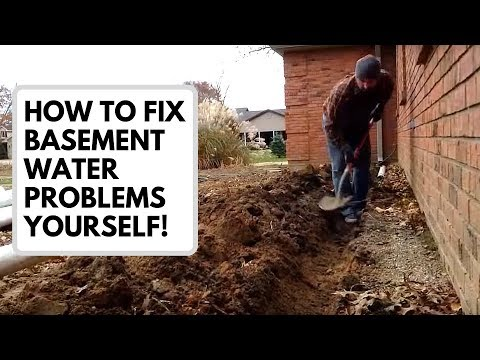 How to Fix Basement Water Problems Yourself