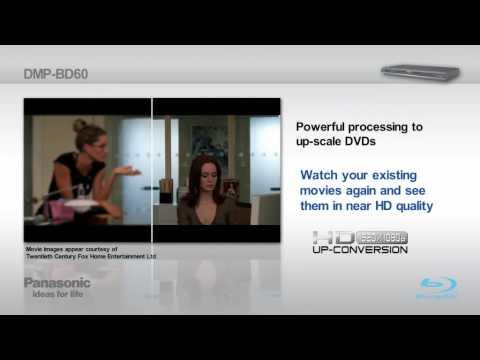 Panasonic Blu-ray Player BD60
