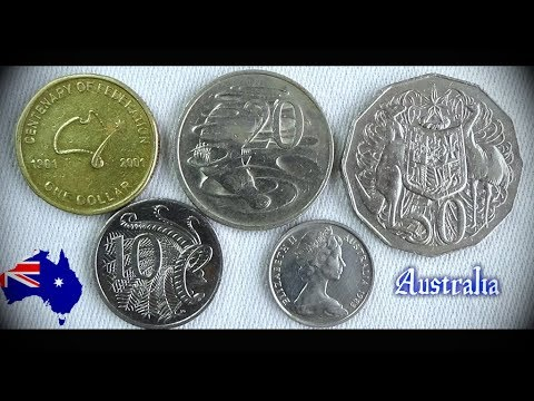 Coin collection | Australia | 5 Coins ( Cents / Dollar ) from 1981
