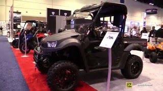 7. 2016 Kymco UXV 700i LE Utility ATV - Walkaround - 2015 AIMEXPO Orlando