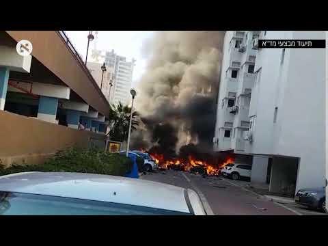 חשד לניסיון התנקשות באשדוד: שני פצועים בפיצוץ רכב