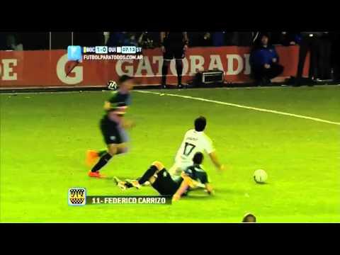 Gol de Carrizo. Boca 1 – Quilmes 0. Fecha 9. Torneo primera División 2014