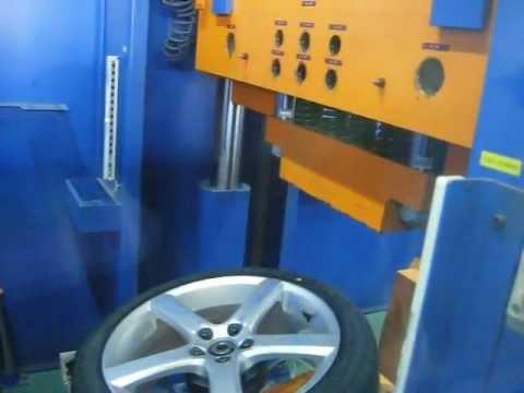 Проверка прочности диска WSP Italy W1257 NORD на косой удар обода (Volvo)