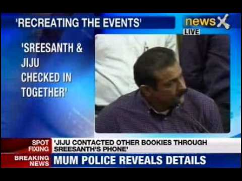 mumbai - NewsX: Himanshu Roy, Joint police Commissioner(Crime), briefs Media on IPL spot Fixing. Another Bookie named Lotus arrested in Mumbai. Sreesanth's Laptop , i...
