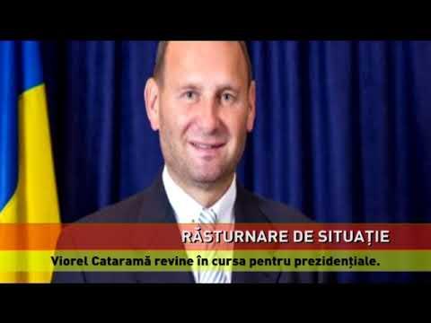 Viorel Cataramă revine în cursa pentru prezidenţiale