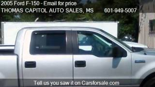 2005 Ford F-150 XLT for sale in JACKSON, MS 39204 at the THO