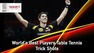 World's Best Players Table Tennis Trick Shots