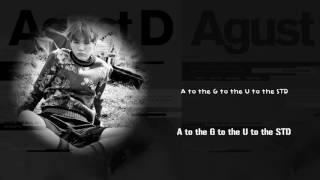 Video BTS Suga (AGUST D) - AGUST D [Lyrics Han|Rom|Eng] MP3, 3GP, MP4, WEBM, AVI, FLV Maret 2018