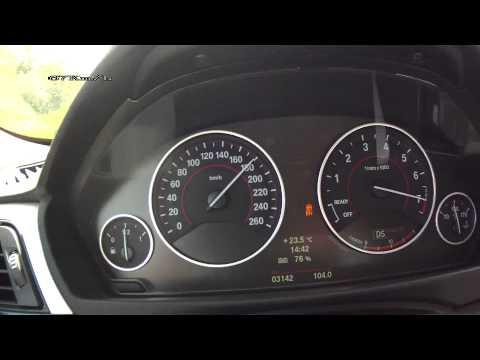 BMW 3 Active Hybrid F30 – acceleration 0-250 km/h