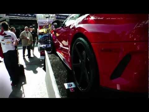 Rennen Forged: Ferrari 599 on Rennen Modular Wheels at SEMA 2011