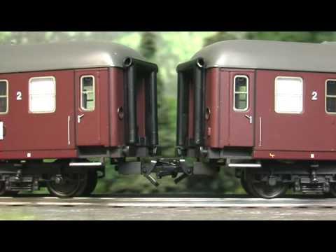 Modellbahn-Neuheiten (232) Märklin 42816 Personenwagen DSB