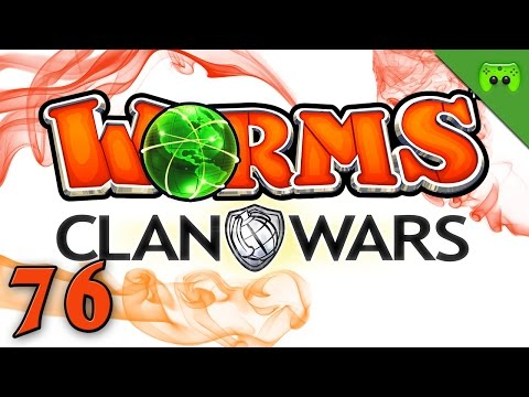 WORMS CLAN WARS # 76 - The Walking Worm «» Let's Play Worms Clan Wars | Full HD