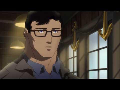 Clark tells Lois his secret - The Death Of Superman HD