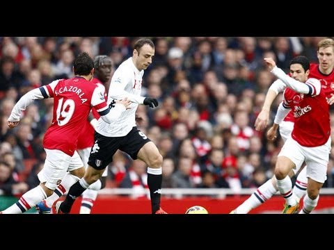 Fulham vs Arsenal 0-1   20/4/2013 All Goals & Highlights