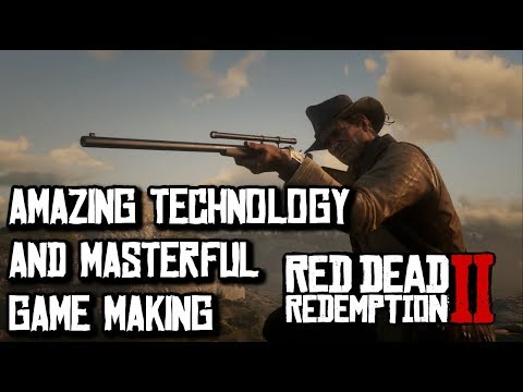 Red Dead Redemption 2 Pushes The Best Technology and Rockstar Makes It Possible