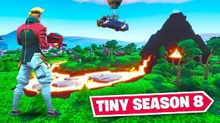 TINY Fortnite SEASON 8 Map!