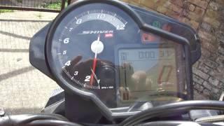 6. Aprilia Shiver SL 750 2008 black - video No. 1