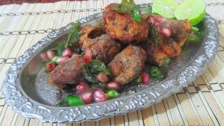 Varutha Attukari/Mutton Kabab recipe in Tamil