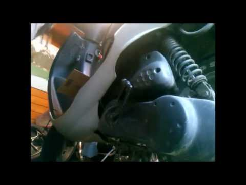 replacing air filter on a 03 Peugeot VivaCity 50CC