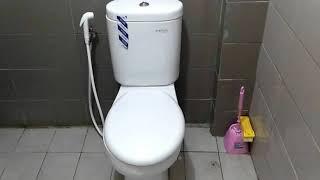 INILAH!!  Cara Mudah Memasang Toilet atau Kloset Duduk