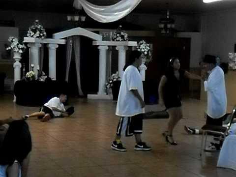 Funny Quinceanera Practice Surprise Tango Dance