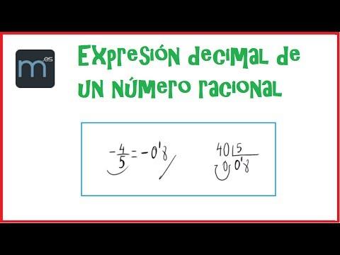 Vídeos Educativos.,Vídeos:Expresión decimal de fracción
