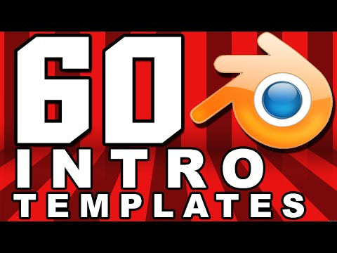 TOP 60 Blender Intro Templates Free Download