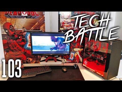 Tech Battle Episode 103 - Deadpool Setup!