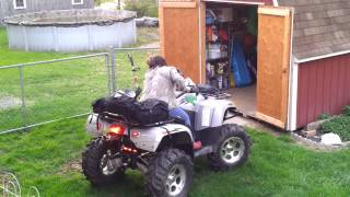 8. ARCTIC CAT THUNDER CAT 1000 ATV