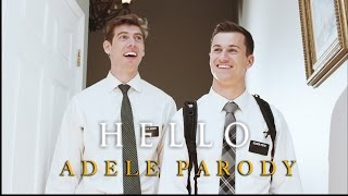 adele  hello mormon missionary parody