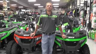 4. 2017 Arctic Cat Alterra TRV 700 XT Green