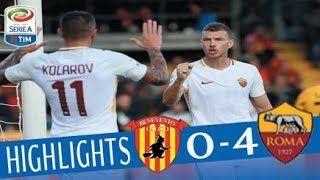 Video Benevento - Roma 0-4 - Highlights - Giornata 5 - Serie A TIM 2017/18 MP3, 3GP, MP4, WEBM, AVI, FLV Agustus 2018