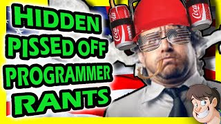 At long last,  the USA edition of Hidden Pi**ed off Programmer Rants is finally here!!! (The Japanese edition will be up next week too)Special thanks to Glenn Plant for The New Tetris footage:https://www.youtube.com/user/glennplantAnd a bit thanks to guest voices:Jon St. John (the voice of Duke Nukem  (yes, that really is him!))StamperTV:https://www.youtube.com/user/StamperTVMister Metokur:https://www.youtube.com/channel/UCfYbb7nga6-icsFWWgS-kWwMaddox:https://www.youtube.com/user/maddoxaomLazy Game Reviews:https://www.youtube.com/user/phreakindee& Silent Rob:https://www.youtube.com/user/LeisureSuitGaming2More Fact Hunt Episodes:♒♒♒♒♒♒♒♒♒♒♒♒ ▶ 4 Games Cancelled Stupid Reasons:http://goo.gl/15lKhT ▶ 4 Shitty Patents that Ruined Gaming:http://goo.gl/95Ia67 ▶ 5 Game Consoles Literally Rotting Away:http://goo.gl/9SZBYR ▶ 5 Purposely Broken, Unbeatable Games by Dickish Developers:http://goo.gl/u8BGvY ▶ The Rise and Fall of 3 YouTube Gaming Channels:http://goo.gl/sw3NYv   ▶ Top 5 Offensive Passcodes:http://goo.gl/srHAh9  ▶ 3 Major Gaming Scandals That Were Buried:http://goo.gl/t1vBQl ▶ Top 5 Offensive Cheat Codes:http://goo.gl/KM7hiY ▶ 5 Games You Never Knew Had Sequels:http://goo.gl/zQ5ndA ▶ 5 Insane Reasons Games were ported to the Same System Twice:http://goo.gl/T8Oe9a ▶ 5 Hilariously Idiotic Gaming Screw-Ups:http://goo.gl/7gMLbT ▶ Top 5 Stupid Things Said by Games Journalists:http://goo.gl/EbZQlU ▶ 5 Games Recalled for Shocking Reasons:http://goo.gl/1BqSA2 ▶ The Driv3rGate Scandal: The Full Story:http://goo.gl/sVeZJA ▶ Top 5 Pissed Off Programmer Rants (UK Edition):http://goo.gl/mfGH3B ▶ 5 Movies You Never Knew had Video Games:http://goo.gl/B2TeVu Games Yanks Can't Wank: (Games never released outside the UK/Europe)♒♒♒♒♒♒♒♒♒♒♒♒♒♒♒♒♒♒♒♒♒♒♒♒♒♒♒♒▲ Sonic's Unknown First Home Appearance:http://goo.gl/W0sKoc▲ The Lost ThunderCats Video Games:http://goo.gl/juUH3g▲ Box Art Theft – (Game Boxes Ripped off from other works of art):http://goo.gl/eegC28▲ Jeremy Clarkson; Video Game 