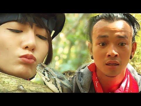 """Hành Trình Đích Thực - Tập 3 Full: Kim Nhã, Đồng Ánh Quỳnh khóc thét khi phải hôn """"trăn rừng"""" - Thời lượng: 23:20."""
