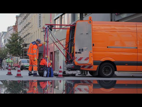 Abwasserentsorgung in Saarbrücken - der ZKE betreut r ...