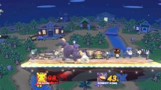 DK beats quick attack